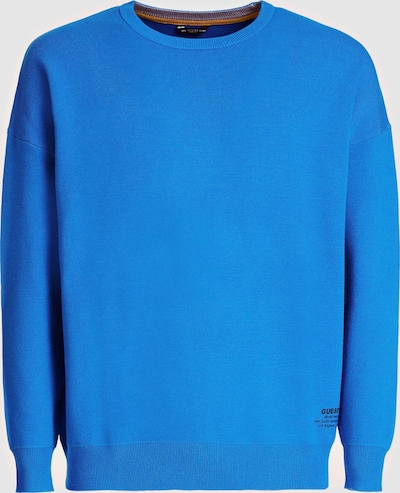 GUESS Guess PULLOVER LOOSE FIT in blau, Produktansicht