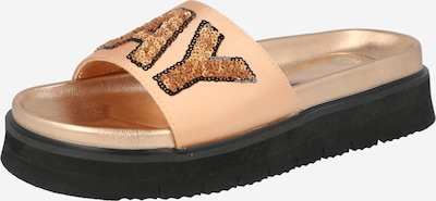 REPLAY Pantolette 'WIKIEUP' in nude / gold / rosegold, Produktansicht