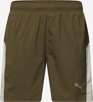 Pantalon de sport PUMA en vert