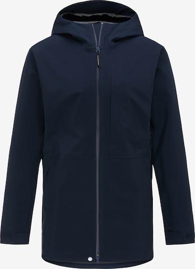 PYUA Outdoorjas 'Excite' in de kleur Blauw, Productweergave