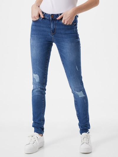 GUESS Jeggings in blue denim, Modelansicht