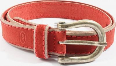 EDC BY ESPRIT Ledergürtel in XS-XL in rot, Produktansicht