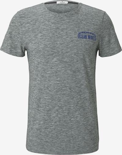 TOM TAILOR T-Shirt in dunkelblau / graumeliert, Produktansicht