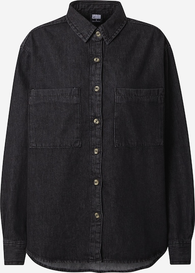 Urban Classics Blusa en negro denim, Vista del producto