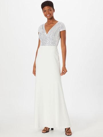 Rochie de seară 'KRYSTAL' de la Lauren Ralph Lauren pe alb