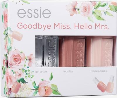 essie Geschenkset 'Goodbye Miss. Hello Mrs.' in rosa / rosé / transparent, Produktansicht