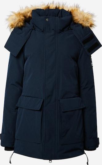 Superdry Ziemas jaka 'Everest', krāsa - tumši zils / gaiši brūns, Preces skats