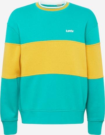 LEVI'S Sweatshirt in Grün