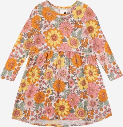 Cotton On Kleid 'FREYA' in gelb / grau / grün / orange / weiß, Produktansicht