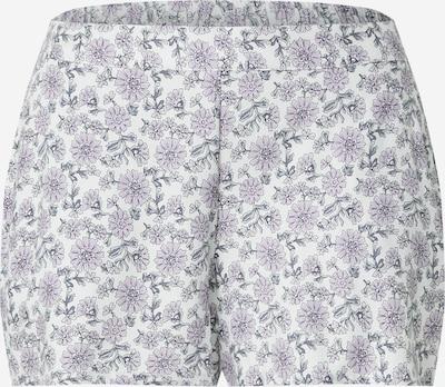 ETAM Pidžama ar šortiem 'MADDLYN' debesu lillā / melns, Preces skats