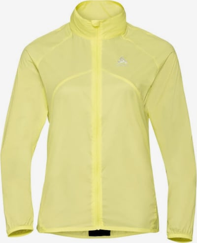 ODLO Jacke 'Jacket ZEROWEIGHT' in gelb, Produktansicht