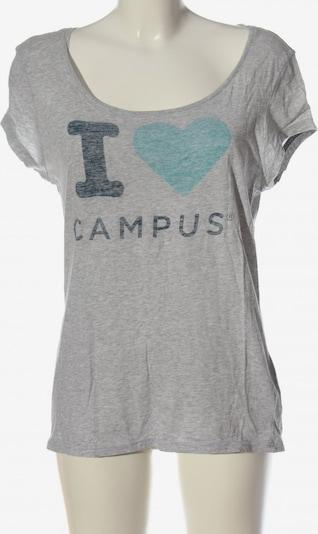 CAMPUS T-Shirt in M in blau / türkis / hellgrau, Produktansicht