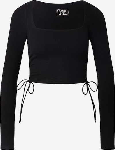 Parallel Lines Shirt in black, Item view