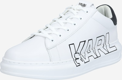 Karl Lagerfeld Sneakers laag 'KAPRI' in de kleur Zwart / Wit, Productweergave
