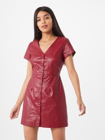 GLAMOROUS Kleid in weinrot, Modelansicht