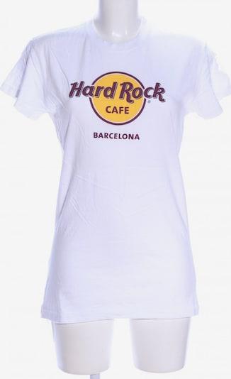 Hard Rock Cafe Print-Shirt in XL in weiß, Produktansicht