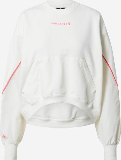 CONVERSE Sweatshirt 'BLOCKED ALT TERRAIN' in de kleur Zalm roze / Wit, Productweergave