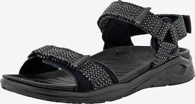 ECCO Sandale 'X-trinsic ' in hellgrau / schwarz, Produktansicht
