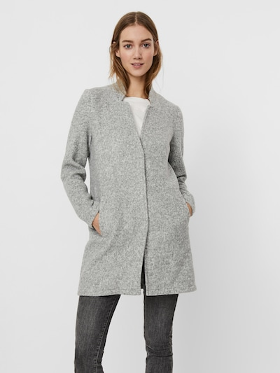 VERO MODA Abrigo de entretiempo 'Katrine' en gris, Vista del modelo