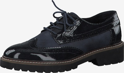 s.Oliver Lace-up shoe in navy / black, Item view