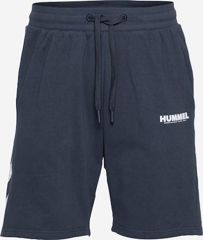Hummel Pantalon de sport 'Legacy' en bleu nuit / blanc, Vue avec produit