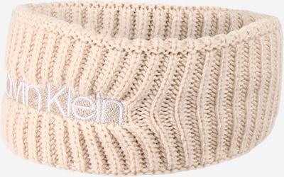 Calvin Klein Čelenka - béžová / bílá, Produkt