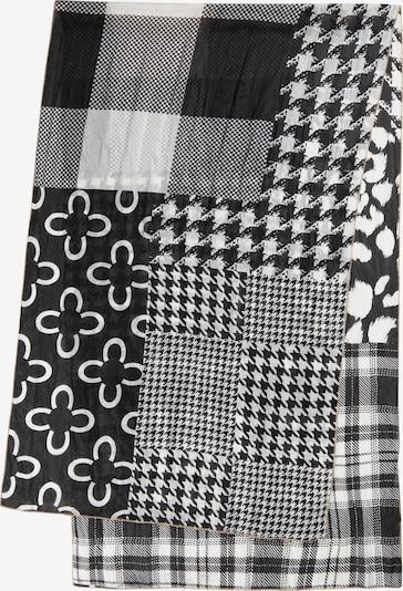 CODELLO Schal in schwarz / weiß, Produktansicht