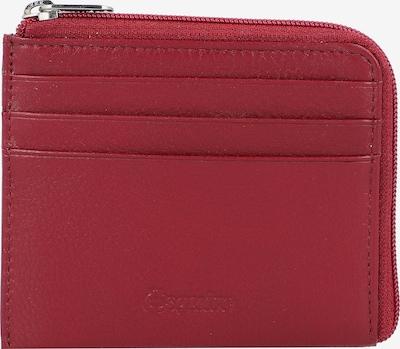 Esquire Kreditkartenetui in rot, Produktansicht