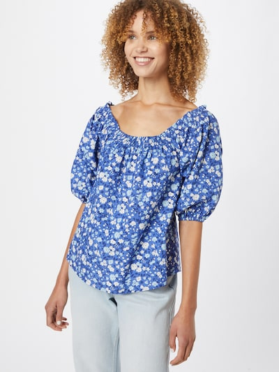 DeFacto Bluse in blau / weiß, Modelansicht