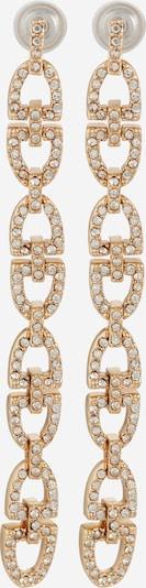 Lauren Ralph Lauren Boucles d'oreilles en or / blanc, Vue avec produit