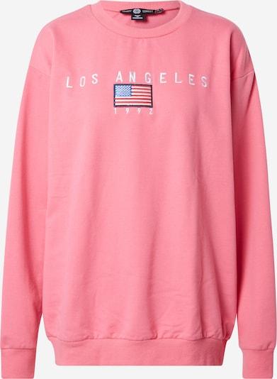 Daisy Street Sweatshirt in blau / pink / rot / weiß, Produktansicht