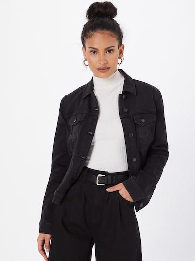 ESPRIT Between-Season Jacket in Black: Frontal view