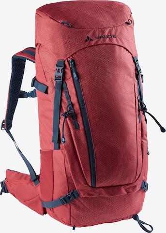 VAUDE Rucksack 'Asymmetric 38+8' in Rot