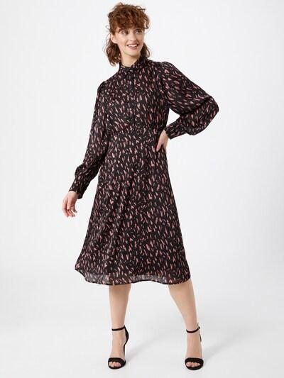 Rochie tip bluză VILA pe roz deschis / negru, Vizualizare model