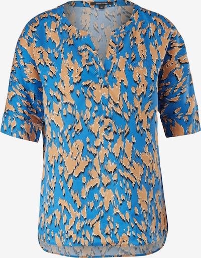 COMMA Μπλούζα σε κρεμ / μπλε ουρανού / ανοικτό καφέ / μαύρο, Άποψη προϊόντος