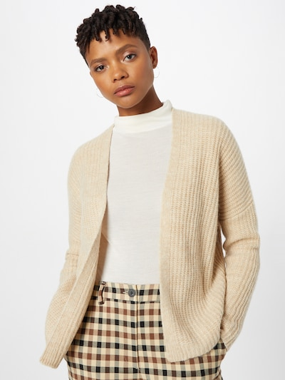 s.Oliver Knit Cardigan in Sand, View model