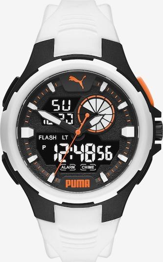 PUMA Uhr in orange / schwarz / weiß, Produktansicht