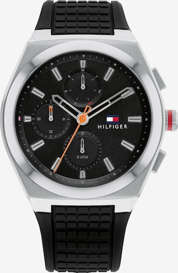 TOMMY HILFIGER Multifunktionsuhr in schwarz, Produktansicht