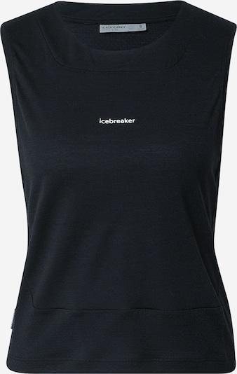 ICEBREAKER Sporttop 'Meteroa' in schwarz, Produktansicht