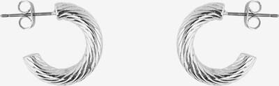 PIECES Boucles d'oreilles 'Jumia' en gris argenté, Vue avec produit