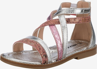 MEXX Sandals in Pink / Silver, Item view