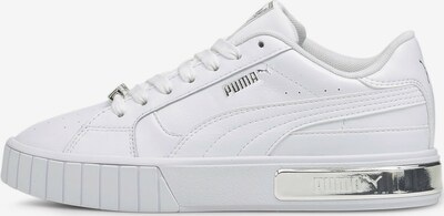 PUMA Sneakers low 'Cali Star Metallic' in Silver / White, Item view