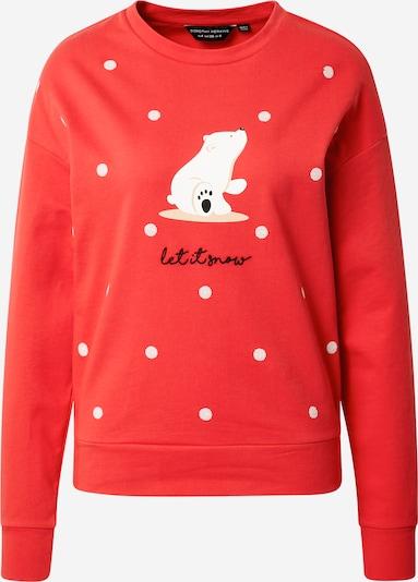 Dorothy Perkins Sweatshirt i creme / lys rød / sort / hvid, Produktvisning