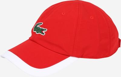 LACOSTE Casquette en vert / rouge / blanc, Vue avec produit