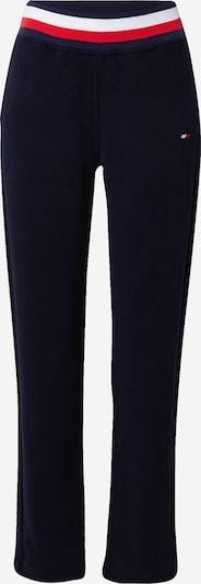 Tommy Sport Pantalon de sport en bleu foncé / rouge / blanc, Vue avec produit