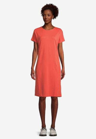 Cartoon Kleid in orange, Modelansicht