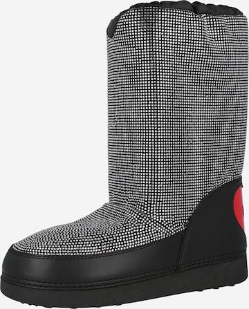Boots da neve di Love Moschino in nero