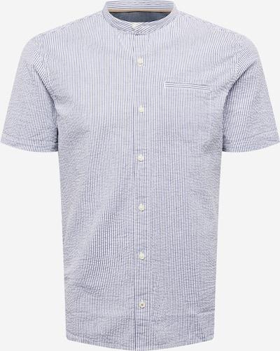 s.Oliver Hemd in taubenblau / weiß, Produktansicht