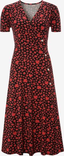 Aniston CASUAL Kleid in rot / schwarz, Produktansicht