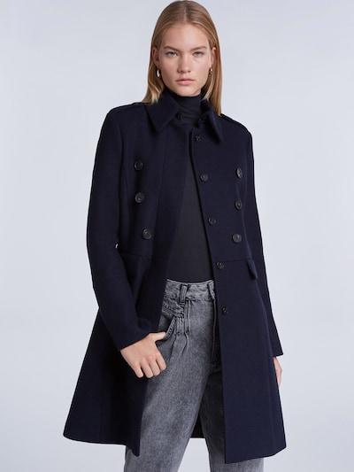 SET Mantel in nachtblau, Modelansicht